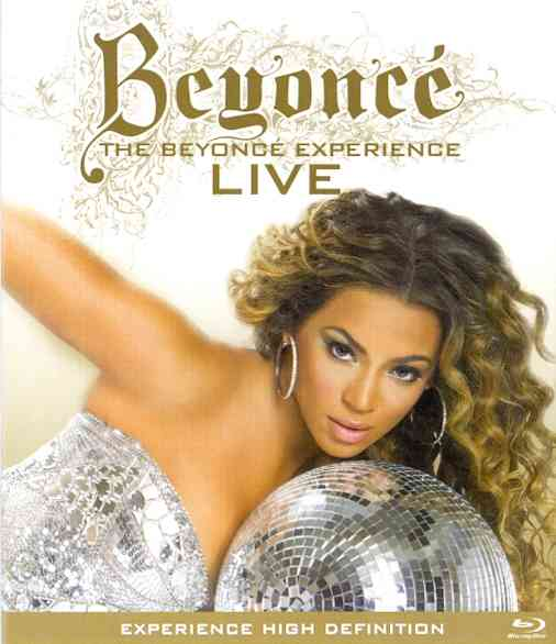 BEYONCE EXPERIENCE LIVE BY BEYONCE (Blu-Ray)